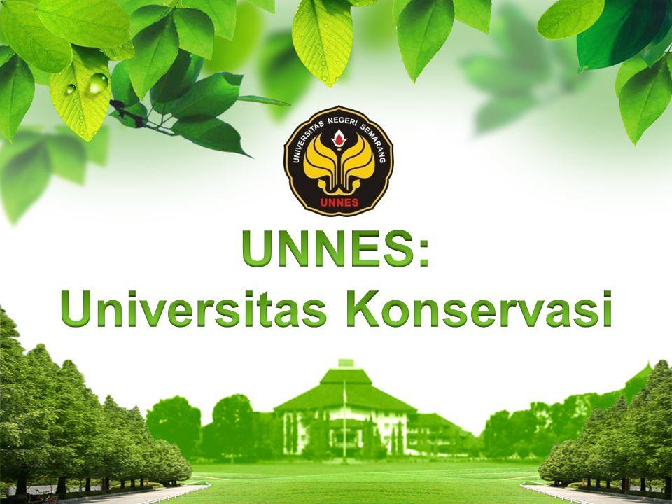 Menjadi Badan yang Mengembangkan Tata Kelola Kampus Berbasis Konservasi Pentingnya Universitas Konservasi Rendah- nya Kepeduli an Masalah Moral Masalah Lingkungan