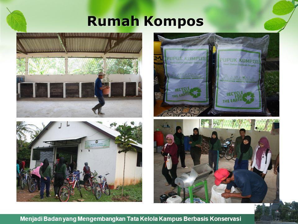 Menjadi Badan yang Mengembangkan Tata Kelola Kampus Berbasis Konservasi Rumah Kompos