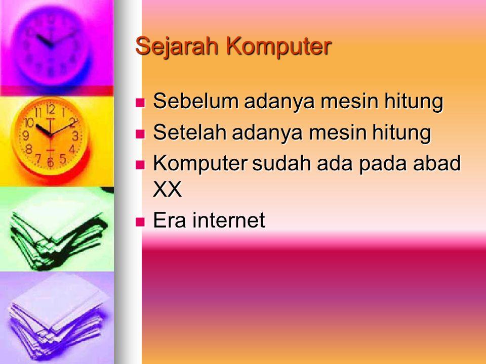 Perkembangan Teknologi Informasi Dan Komputer Oleh : NOVELIN ROSI JETI TUMIWA NIM : 03050076 Kelas : C