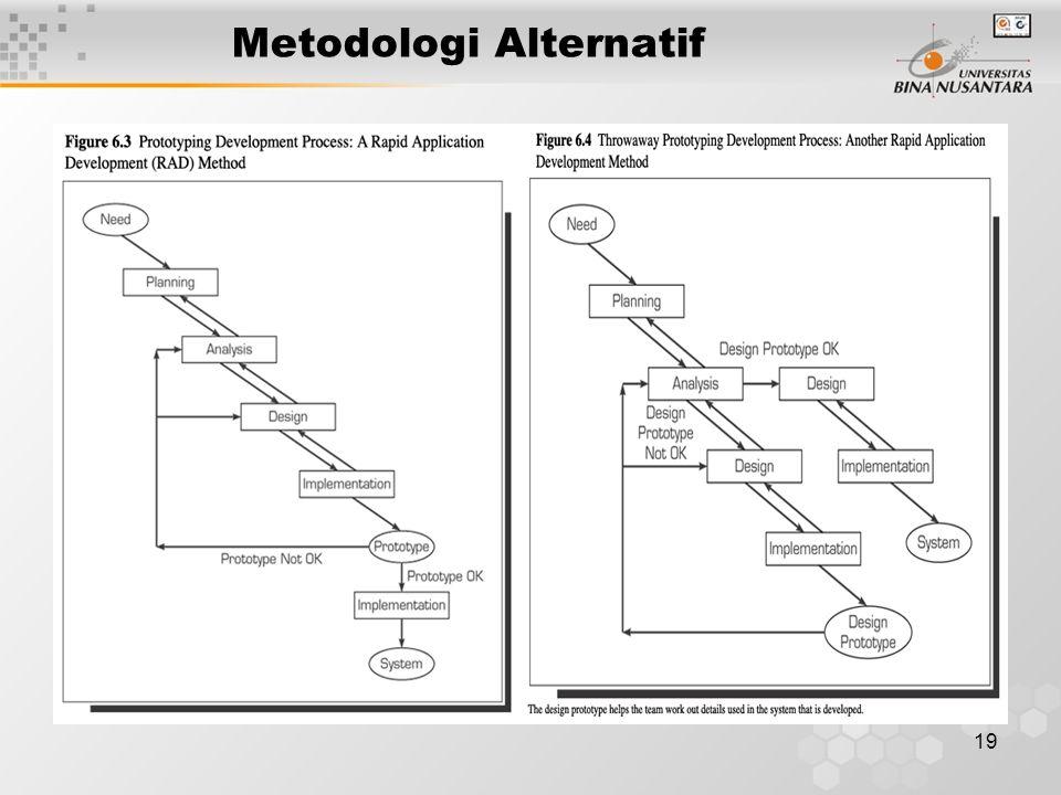 19 Metodologi Alternatif