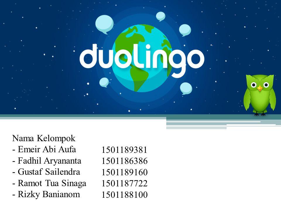 Apa itu Duolingo.