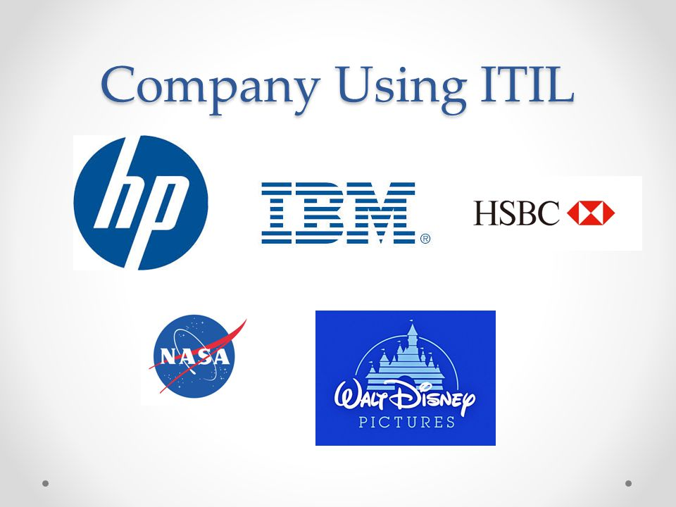 Company Using ITIL