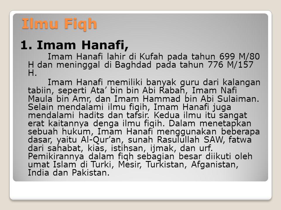 3. Imam Abu Daud (817 M- 889 M) Karya beliau yang terpopuler adalah Sunan Abu Dawud. Kitab ini menghimpun 4.800 hadits hasil seleksi ketat dari 500.00