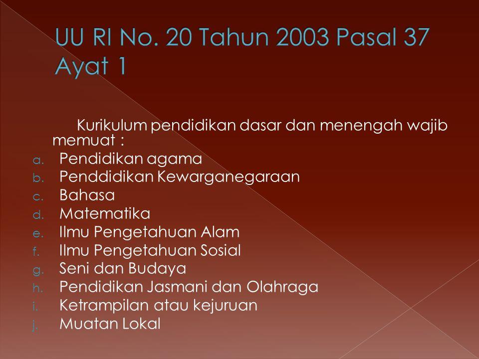 Program pokok pembangunan pendidikan yang dinyatakan tersebut juga menjadi membantu merealisasikan pasal 31dan 32 UUD 1945 yaitu :  Tiap – tiap warga negara mendapat pengajaran  Pemerintah mengusahakan dan menyelengarakan satu sistem pengajaran nasional  Pemerintah memajukan kebudayaan nasional Indoesia