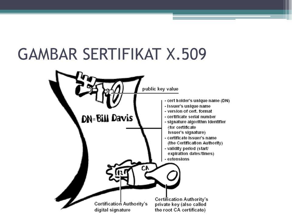 GAMBAR SERTIFIKAT X.509