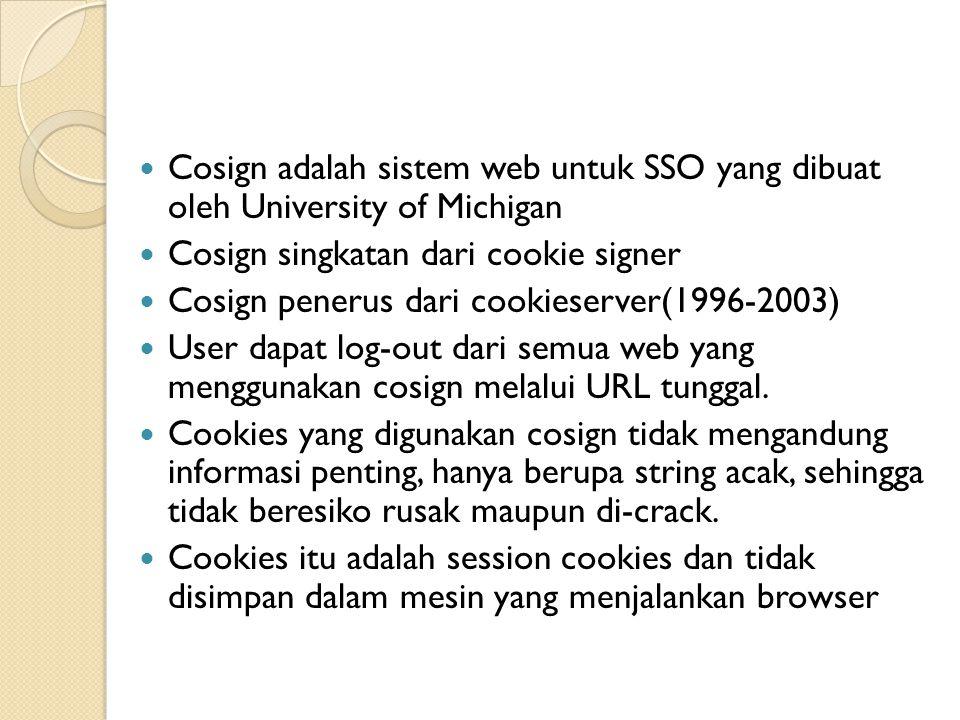 A-select -> Suatu inovasi sistem untuk otentikasi pengguna dalam sebuah area web.