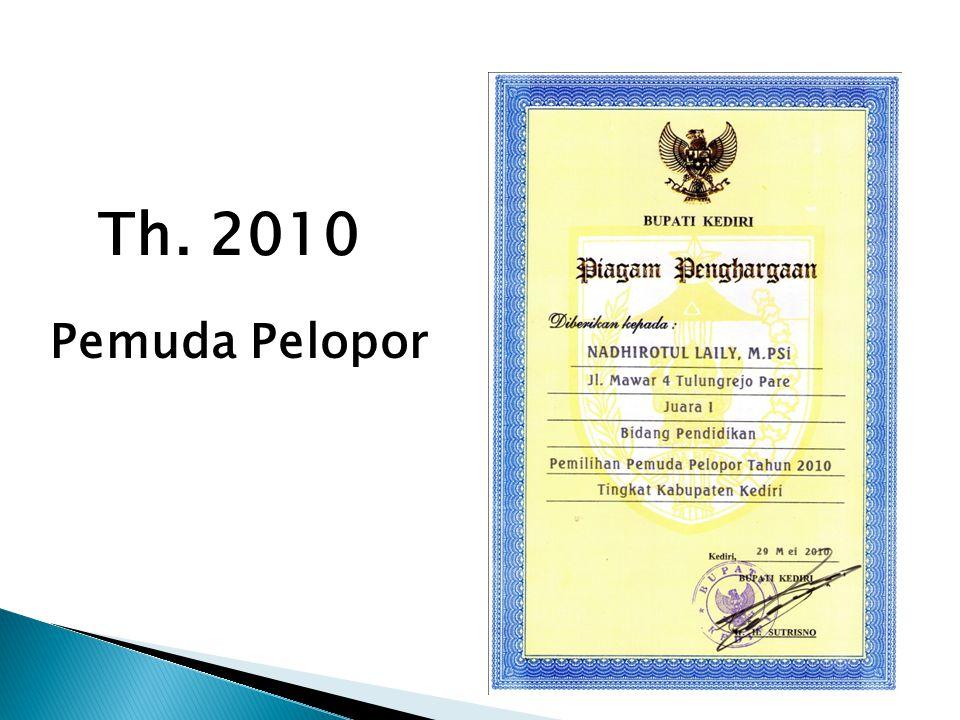 Th. 2010 Pemuda Pelopor