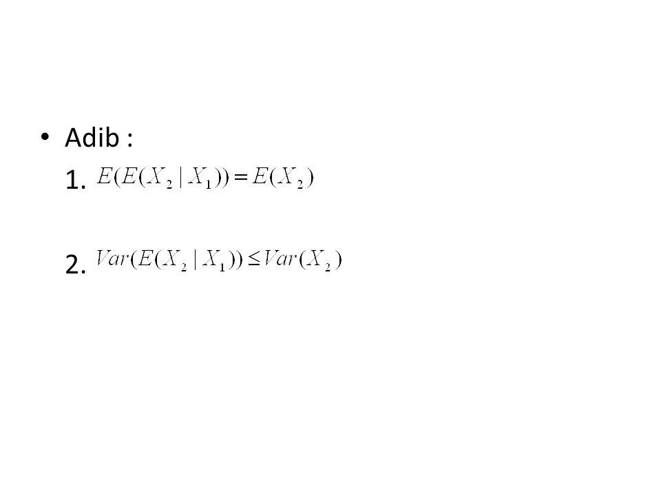 Adib : 1. 2.