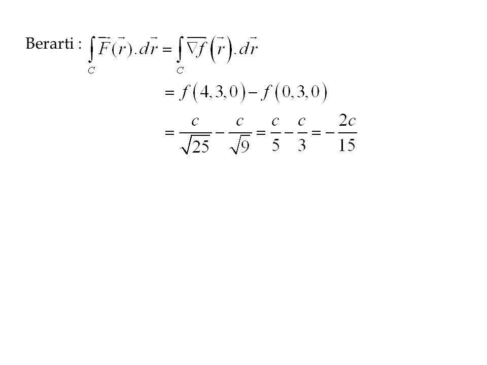 Kriteria untuk Kebebasan Tapak D disebut himpunan tersambung apabila terdapat dua titik sebarang dalam D yang dapat dihubungkan oleh sepotong kurva mulus yang seluruhnya terletak dalam D.
