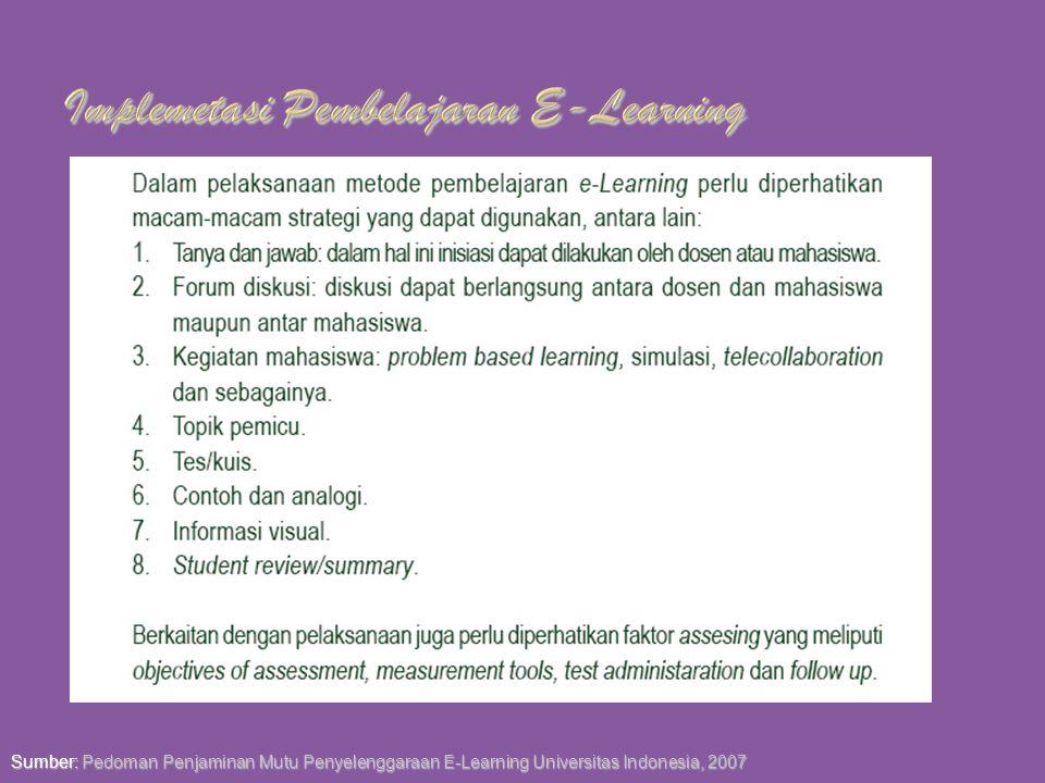 LMS berupa Software khusus yang dapat memvirtualisasi pembelajaran secara konvensional sekaligus dapat mengelola pembelajaran E-Learning Manajemen Kel