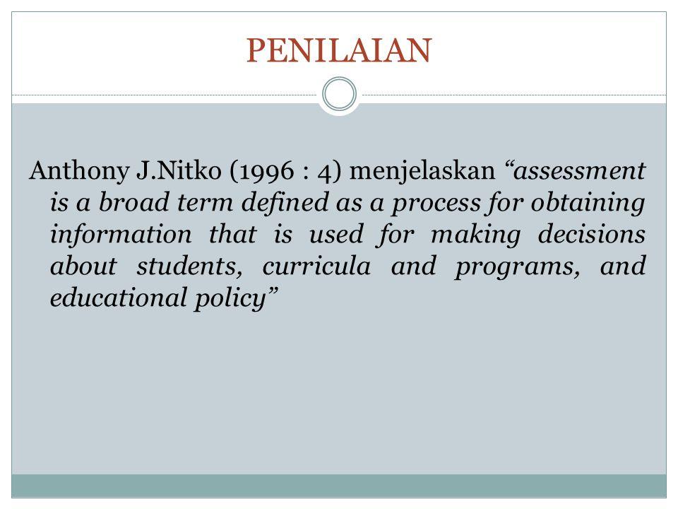 EVALUASI Menurut Ralph Tyler yang dikutip oleh Arikunto (2008: 3), evaluasi merupakan sebuah proses pengumpulan data untuk menentukan sejauh mana, dalam hal apa, dan bagian mana tujuan pendidikan sudah tercapai.