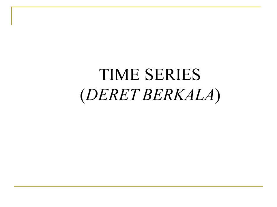 TIME SERIES (DERET BERKALA)