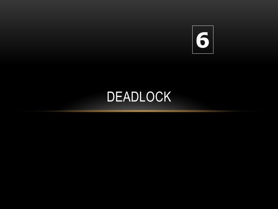 22 RECOVERY DARI DEADLOCK Batalkan semua proses deadlock Batalkan satu proses pada satu waktu hingga siklus deadlock dapat dihilangkan Proses mana yang dapat dipilih untuk dibatalkan .
