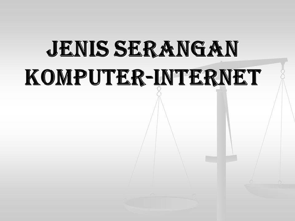 Jenis serangan komputer-internet