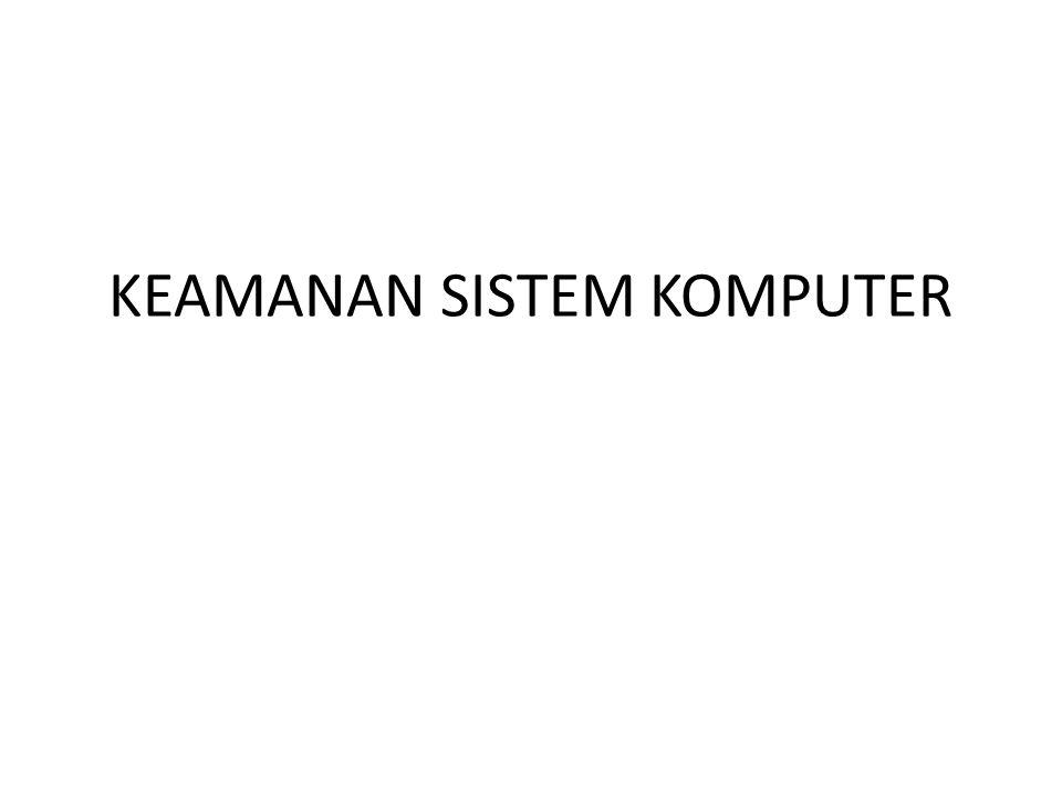 – Reactionary (reaksi) ; IDS hanya mengamati file log saja.