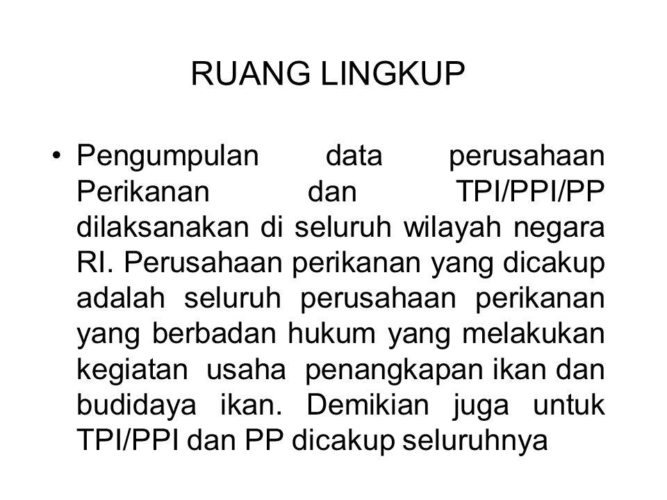 LANDASAN OPERASIONAL (Alt) Kepdirjen 090/DJP2HP/2011 direvisi Kepdirjen 016/DJP2HP/2012 tentang Registrasi Unit Penanganan Pengolahan Hasil Perikanan Nonkonsumsi (UPPN) LANDASAN OPERASIONAL (Alt) Kepdirjen 090/DJP2HP/2011 direvisi Kepdirjen 016/DJP2HP/2012 tentang Registrasi Unit Penanganan Pengolahan Hasil Perikanan Nonkonsumsi (UPPN) JENIS UNIT PENANGANAN, PENGOLAHAN HASIL PERIKANAN NONKONSUMSI (UPPN) YANG DIREGISTRASI : A.Ikan hias B.Mutiara C.Tanaman hias air D.Kerajinan (kulit ikan/kerang, sisik, tulang, tanaman hias, dll) E.Minyak ikan untuk keperluan kosmetik, medis/farmasi F.Tepung ikan untuk bahan baku pakan G.Garam untuk laboratorium, industri, medis/farmasi H.Tulang ikan untuk keperluan medis/farmasi I.Khitin dan atau khitosan J.Kolagen untuk keperluan medis/farmasi, kosmetik K.Gelatin L.Silase untuk bahan pakan M.Rumput laut untuk keperluan medis/farmasi, kosmetik N.Produk bioteknologi kelautan/perikanan O.Artemia P.Bubuk (Powder) kulit kerang mutiara untuk kosmetik, dll +++ Albumin (ekstraks dari Ikan Gabus sebagai suplemen kesehatan) JENIS UNIT PENANGANAN, PENGOLAHAN HASIL PERIKANAN NONKONSUMSI (UPPN) YANG DIREGISTRASI : A.Ikan hias B.Mutiara C.Tanaman hias air D.Kerajinan (kulit ikan/kerang, sisik, tulang, tanaman hias, dll) E.Minyak ikan untuk keperluan kosmetik, medis/farmasi F.Tepung ikan untuk bahan baku pakan G.Garam untuk laboratorium, industri, medis/farmasi H.Tulang ikan untuk keperluan medis/farmasi I.Khitin dan atau khitosan J.Kolagen untuk keperluan medis/farmasi, kosmetik K.Gelatin L.Silase untuk bahan pakan M.Rumput laut untuk keperluan medis/farmasi, kosmetik N.Produk bioteknologi kelautan/perikanan O.Artemia P.Bubuk (Powder) kulit kerang mutiara untuk kosmetik, dll +++ Albumin (ekstraks dari Ikan Gabus sebagai suplemen kesehatan) (E s/d P sedang dirancang bersama Balitbang, Perguruan Tinggi dan lembaga lainnya)