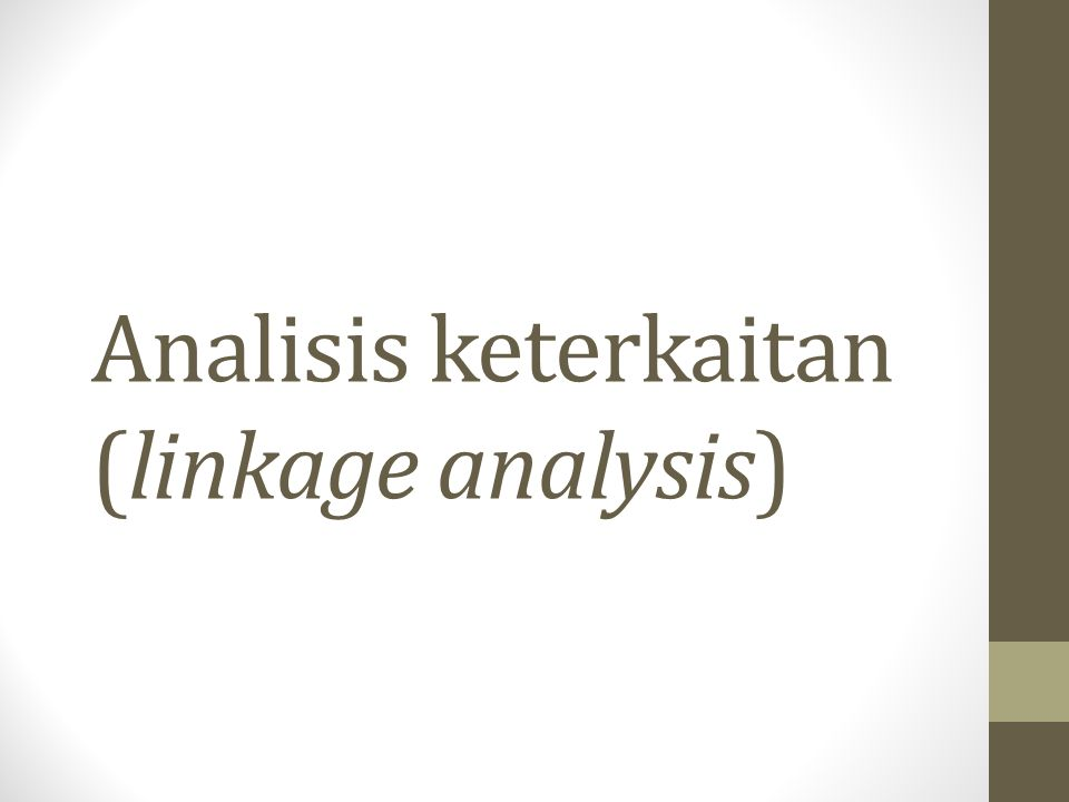 Jenis analisis keterkaitan Backward Linkage Forward Linkage Beberapa aplikasi: Multiplier product matrix (MPM) analysis Extraction method