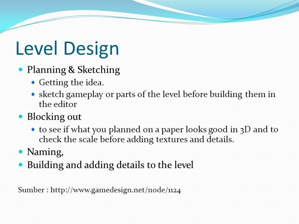 Level Design - Sketching