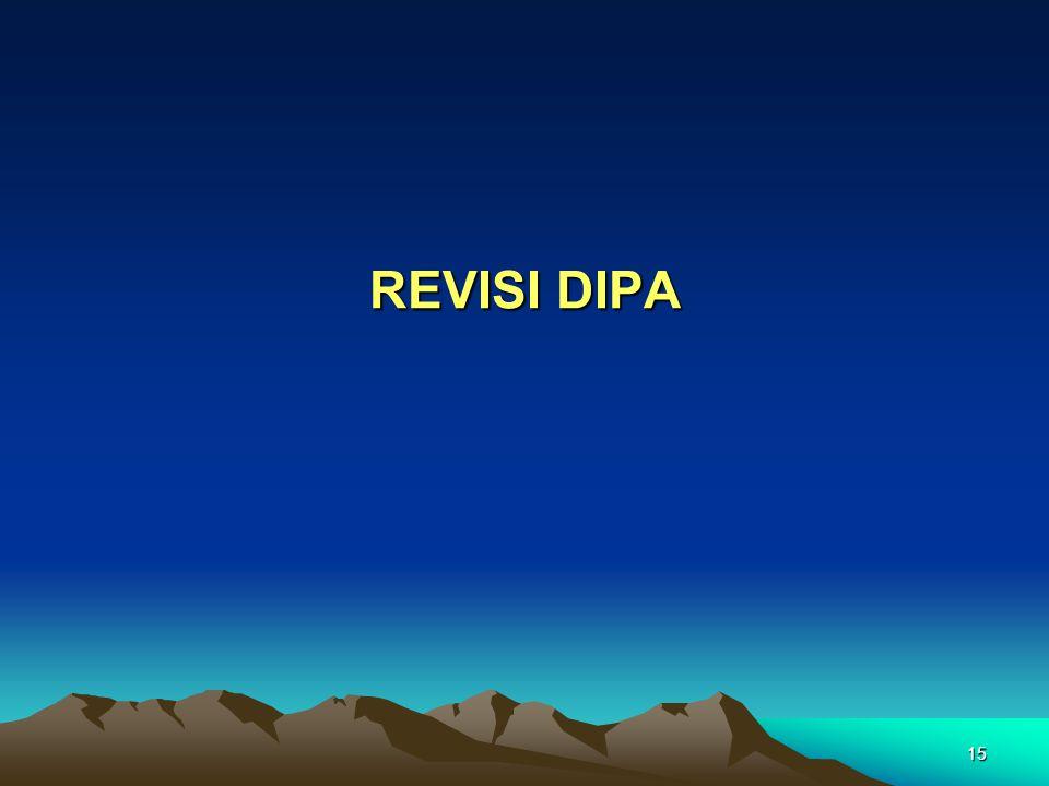 15 REVISI DIPA