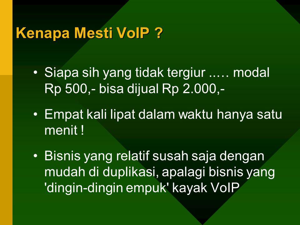 Kenapa Mesti VoIP .Bagaimana penyelesaiannya .