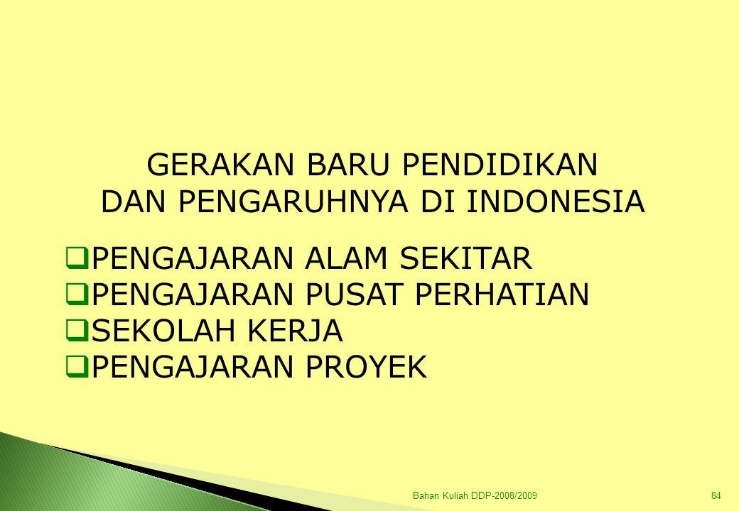 Bahan Kuliah DDP-2008/200985 A.