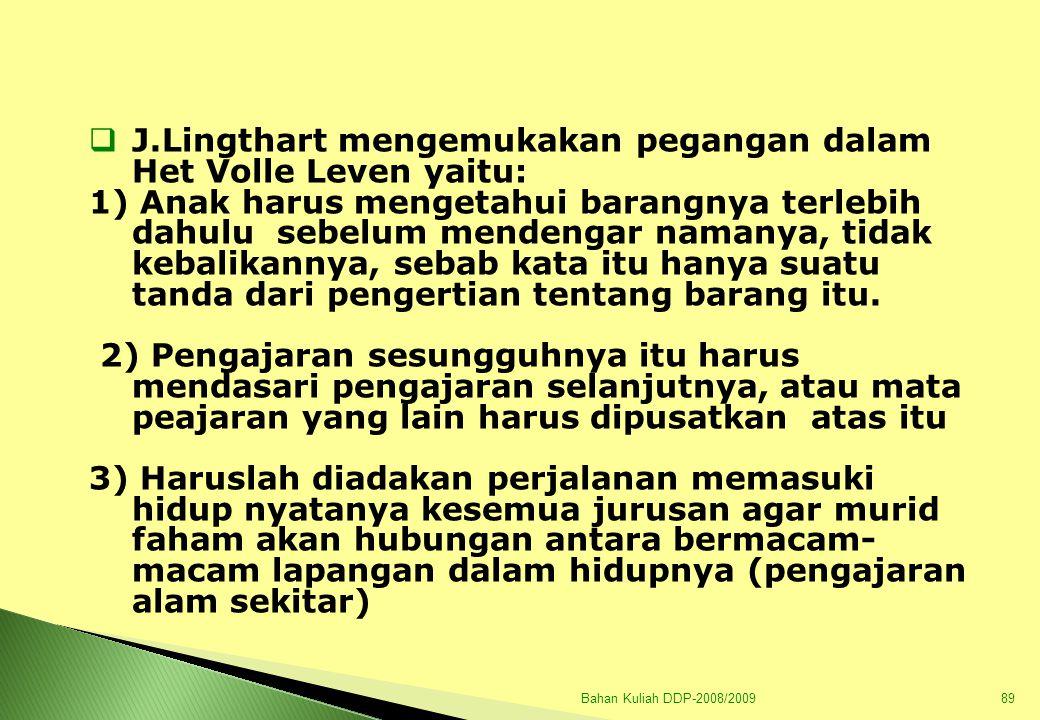 Bahan Kuliah DDP-2008/200990 B.