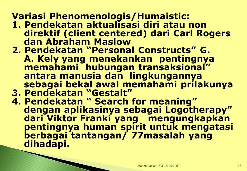 Bahan Kuliah DDP-2008/200978 C.ALIRAN NATURALISME  J.J.
