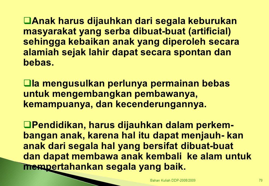 Bahan Kuliah DDP-2008/200980 D.