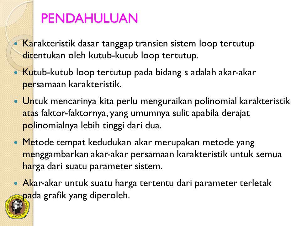 (a) Sistem Loop Tertutup.(b) Fungsi Alih Ekuivalen