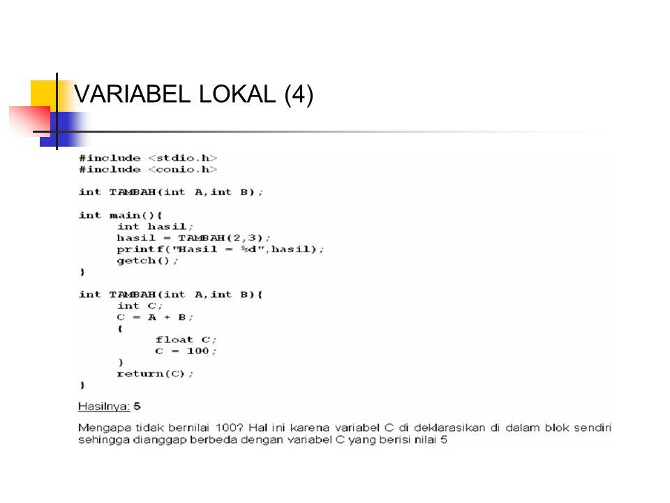 VARIABEL LOKAL (4)
