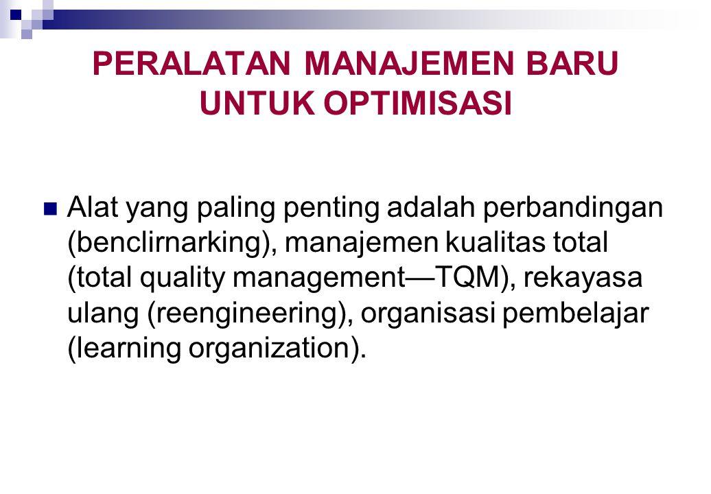 OPTIMISASI TERKENDALA mempelajari optimisasi tanpa kendala, atau maksimisasi atau minimisasi fungsi tujuan tanpa kendala. namun dalam sebagian besar w