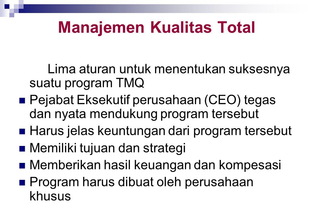 PERALATAN MANAJEMEN BARU UNTUK OPTIMISASI Alat yang paling penting adalah perbandingan (benclirnarking), manajemen kualitas total (total quality manag