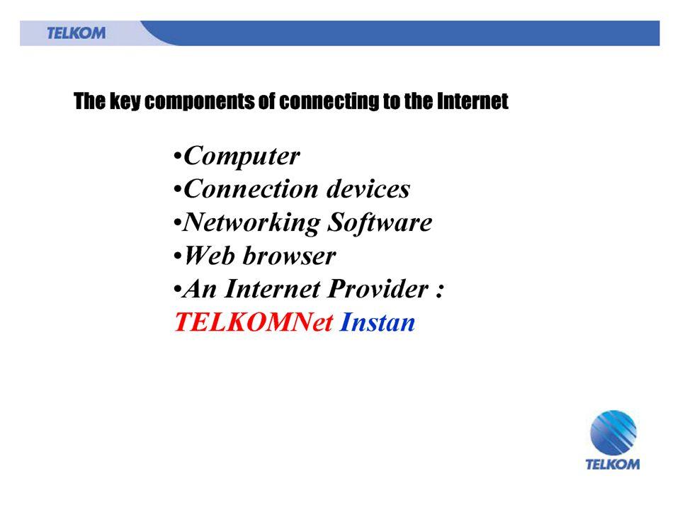 Beberapa alasan mengapa Internet semaking populer: 1.Informasi dapat di share dengan pertukaran pesan antar komputer diseluruh dunia.