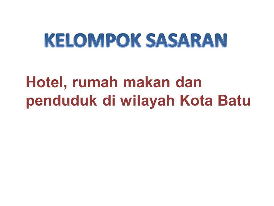 Pengurus Persatuan Hotel, Rumah Makan Indonesia (PHRI) dan tokoh masyarakat kota Batu