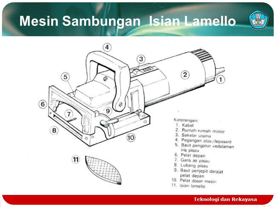 Mesin Sambungan Isian Lamello Teknologi dan Rekayasa
