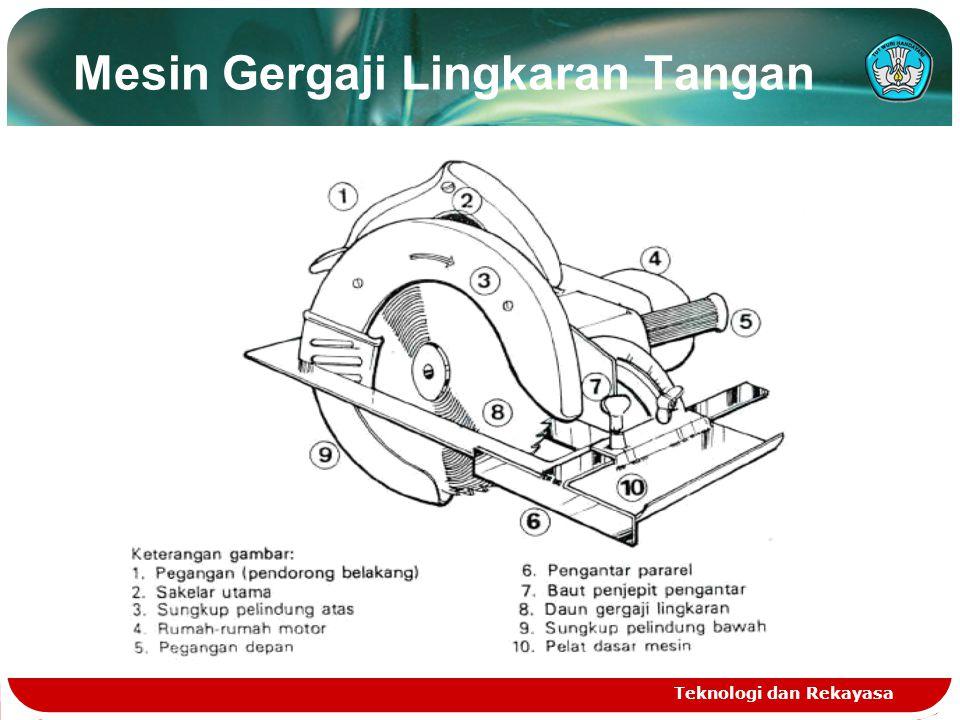 Mesin Gergaji Lingkaran Tangan Teknologi dan Rekayasa