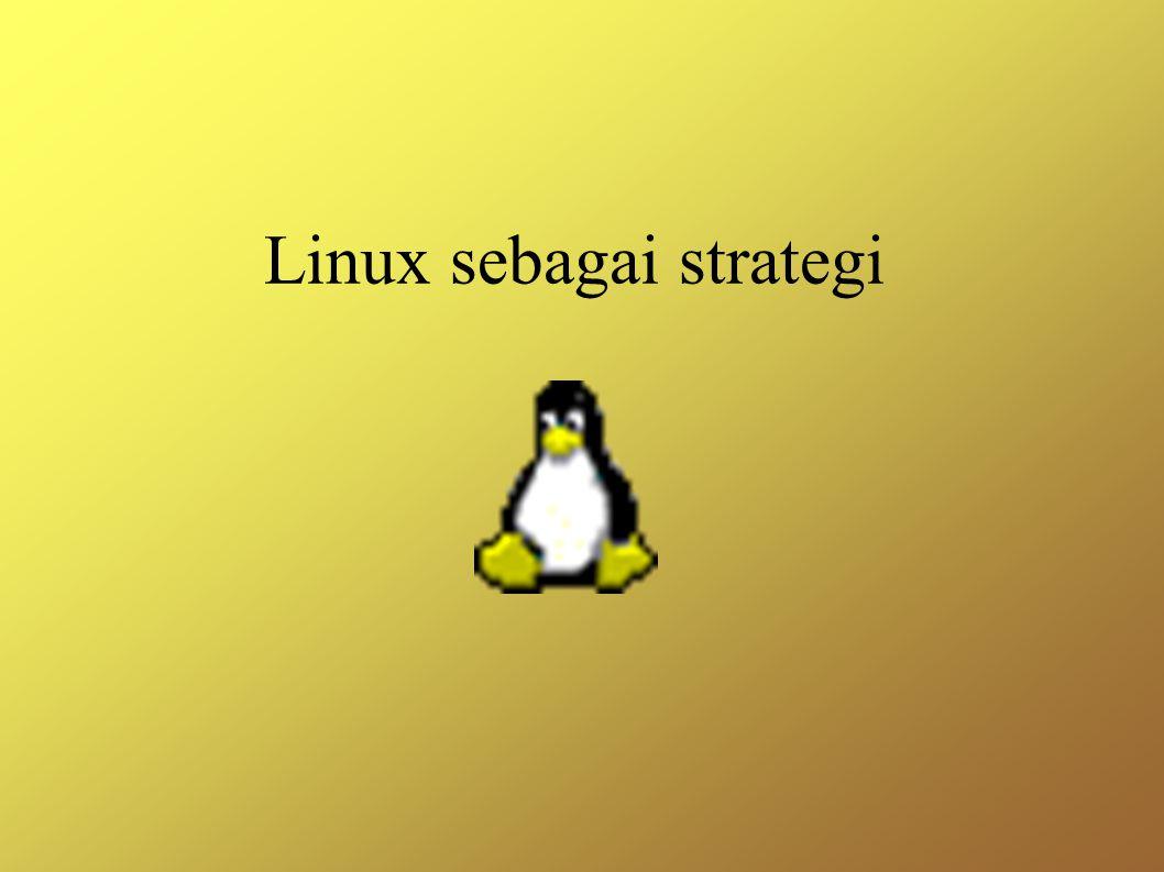 Linux sebagai strategi