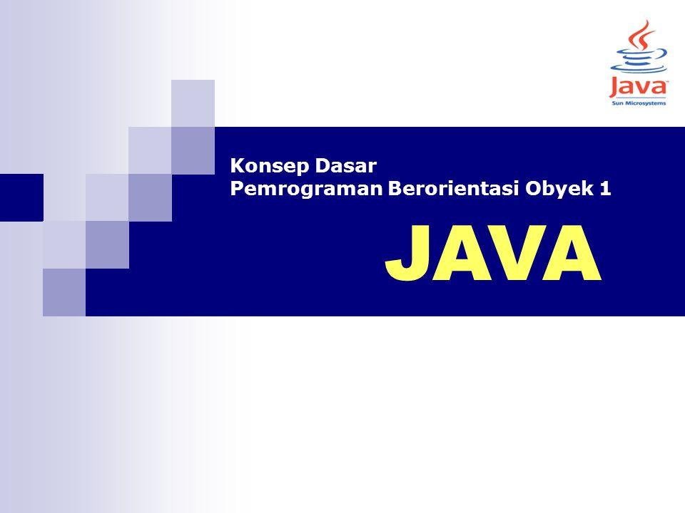 Pengertian Method Method adalah satu kontainer pada class yang memuat baris-baris kode Semua baris kode pada pemrograman Java harus berada pada blok method, dan semua method harus berada di dalam blok class Method dapat dianalogikan sebagai fungsi.