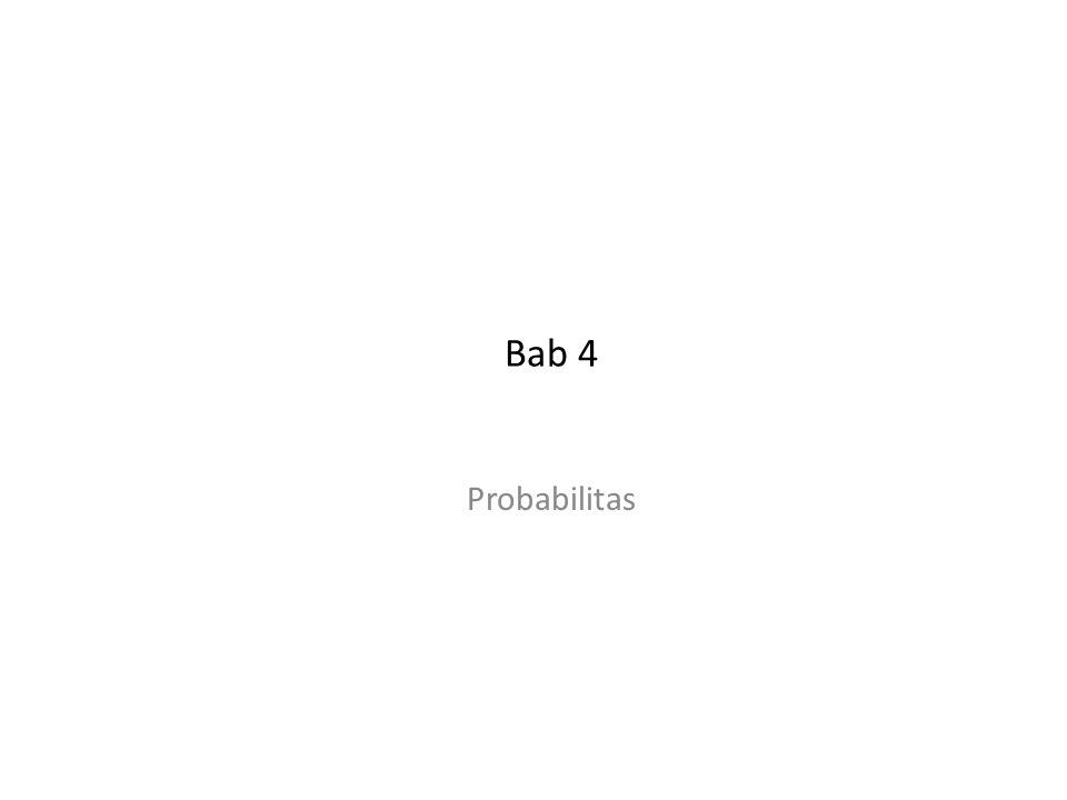 Bab 4 Probabilitas