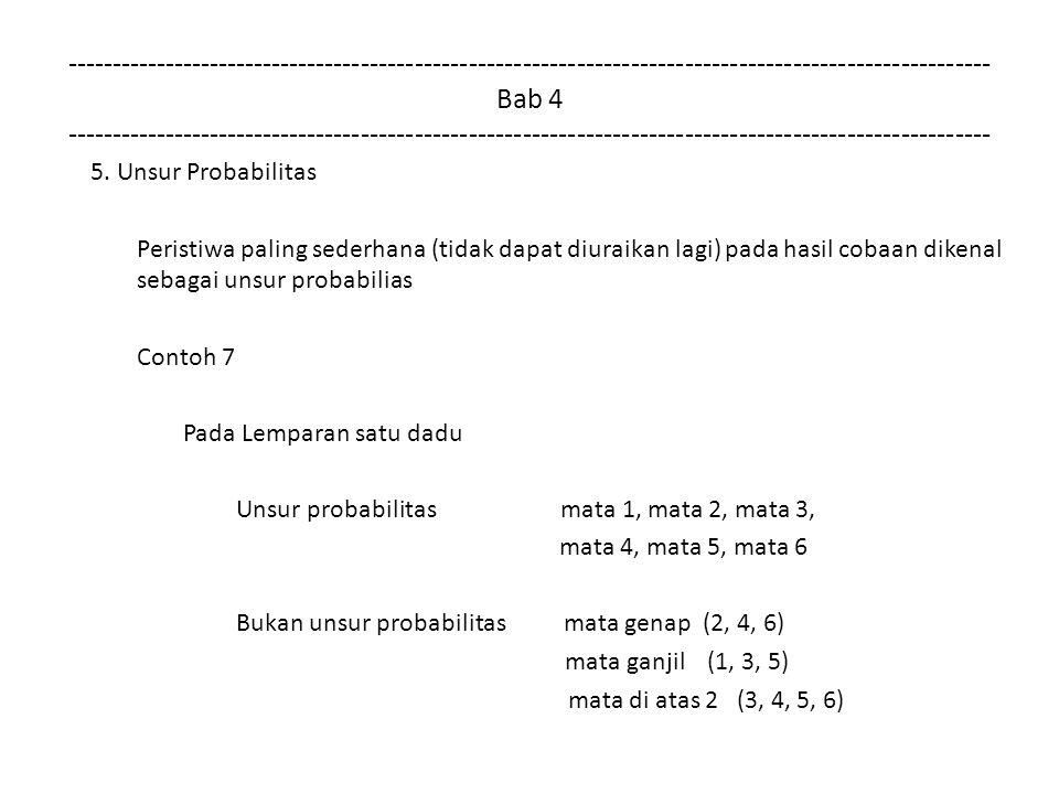 Ciri Besaran dan Parameter Ciri besaran sering ditemukan melalui kelompok data yang diperoleh melalui percobaan Ciri besaran pada kelompok data adalah parameter (parameter populasi) Penelitian sering menggunakan sampel sehingga hanya menemukan statistik (statistik sampel) Dari statistik sampel peneliti menyimpulkan parameter populasi melalui probabilitas Terjadi lompatan penyimpulan dari statistik sampel (sebagian) ke parameter populasi (keseluruhan) Lompatan kesimpulan ini sering diikuti dengan probabilitas keliru (risiko penyimpulan)