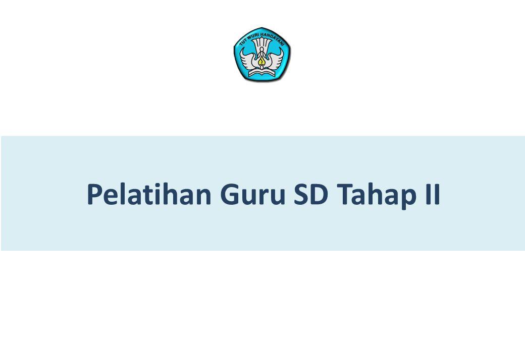 Pelatihan Guru SD Tahap II