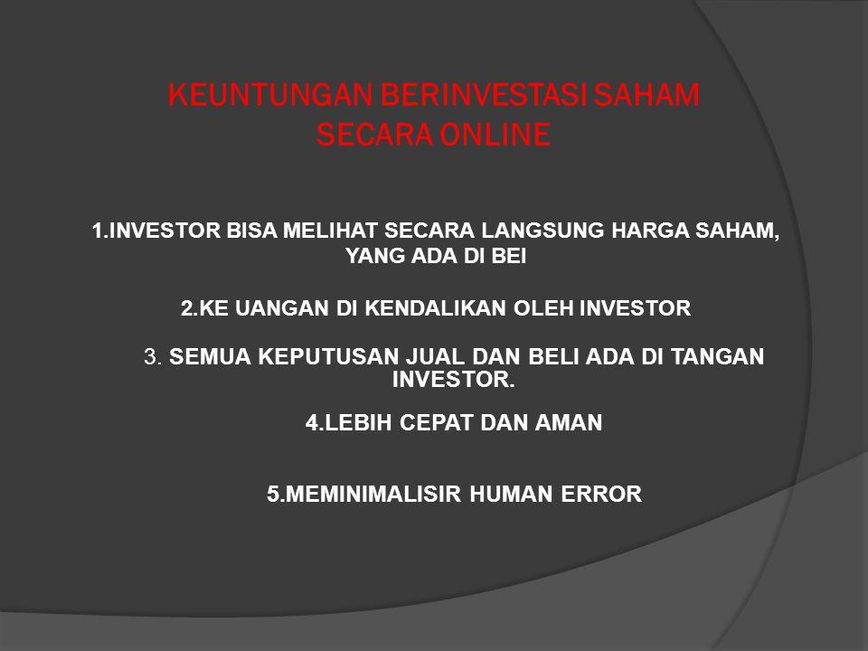Menu Running Trade n Interest Stock menu favorite eTrading