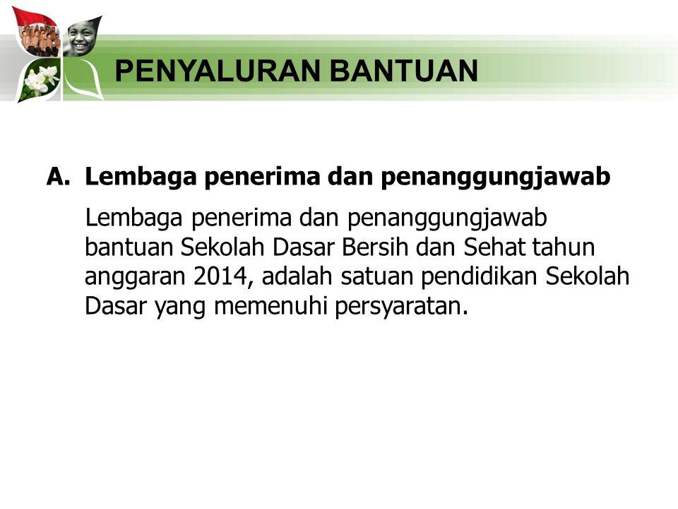 PENYALURAN BANTUAN B.
