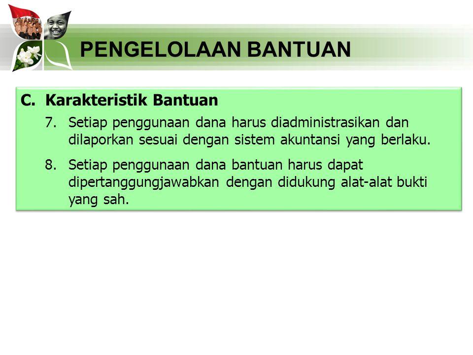 PENGELOLAAN BANTUAN D.