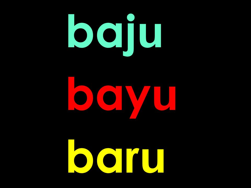 8 baj u bay u bar u