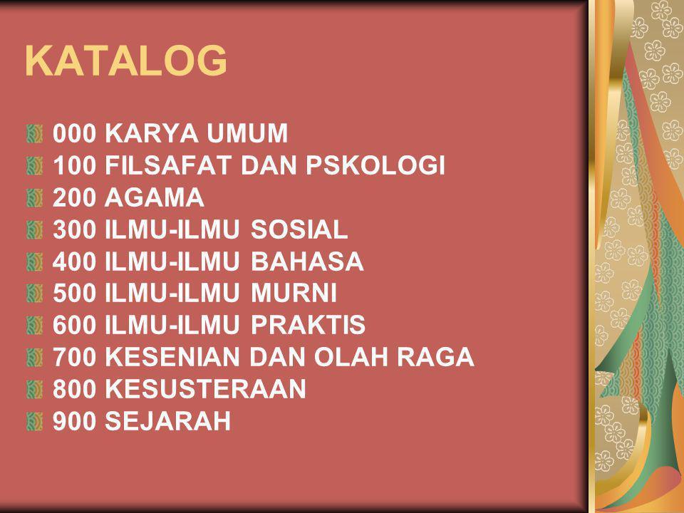 600 ILMU-ILMU PRAKTIS 610 MEDICAL SCIENCES 611 HUMAN ANATOMY CYTOLOGY, HISTOLOGY 612 HUMAN PHYSIOLOGY 613 PROMOTION OF HEALTH 614 FORENSIC MEDICINE, INCIDENCE, PUBLIC PREVENTIVE MEDICINE 615 PHARMACOLOGY AND THERAPEUTICS