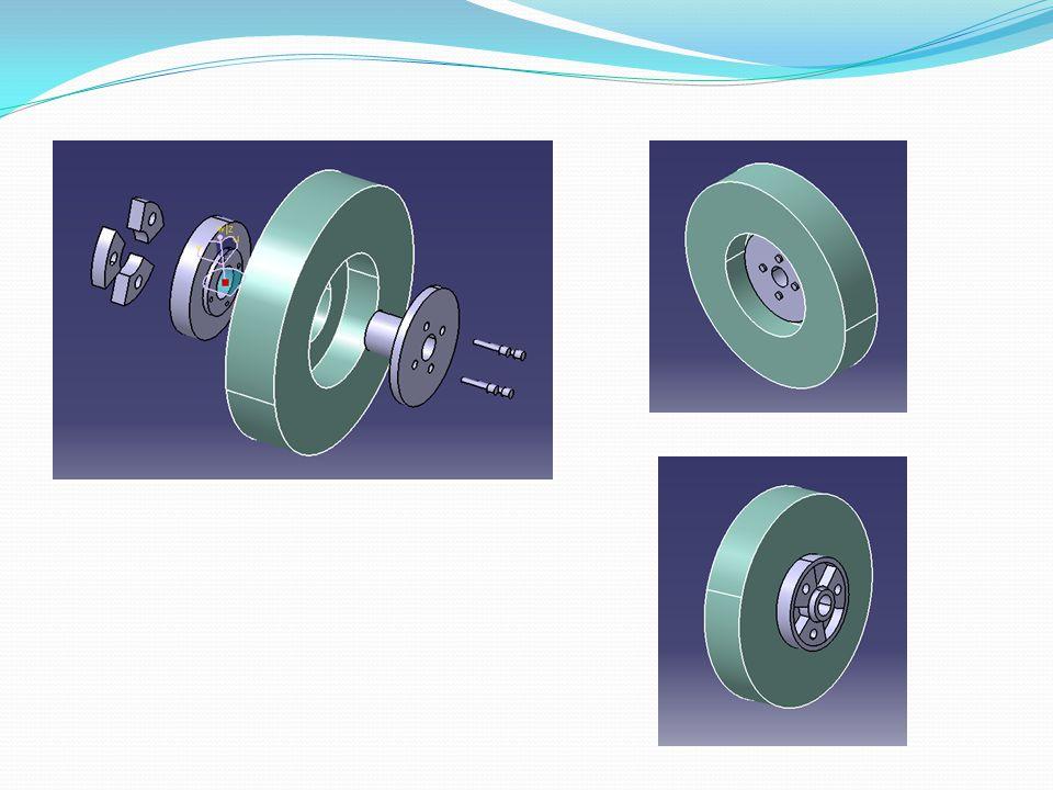  PENYEIMBANGAN / BALANCING  PENYEBAB KEADAAN TIDAK BALANCE  Ketidaksimetrisan dari elemen rotasi tersebut ( meliputi : bentuk, penempatan, rapat jenis )  Ketidaksimetrisan yang terjadi pada waktu elemen rotasi tersebut dalam keadaan berputar ( misalnya : distorsi & perubahan yang terjadi karena adanya tegangan atau stress, perubahan temperature )  Material yang tidak homogeny : adanya lubang lubang dari inklus pada benda cor2an, distribusi kerapatan butiran yang tidak merata.