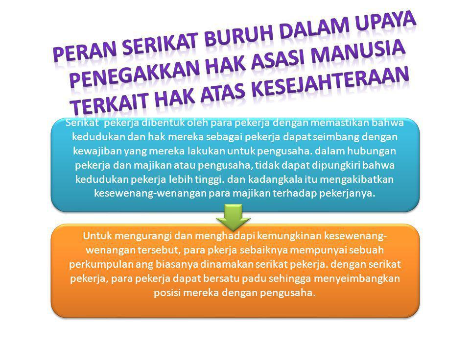 Bagi badan pemerintah di bidang perburuhan tingkat nasional dan propinsi Untuk pengusaha