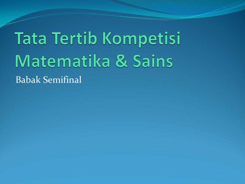 Babak Semifinal