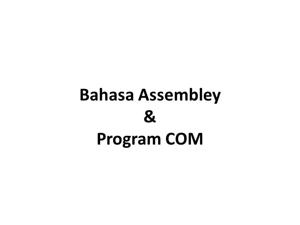 Bahasa Assembley & Program COM